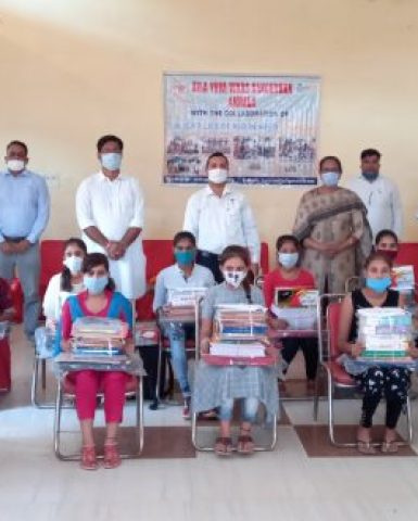 Distribution of Study Material