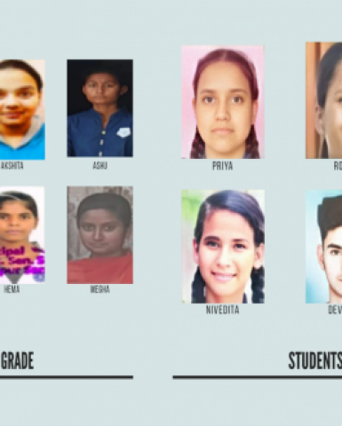 Congratulations to Our Sponsored Students